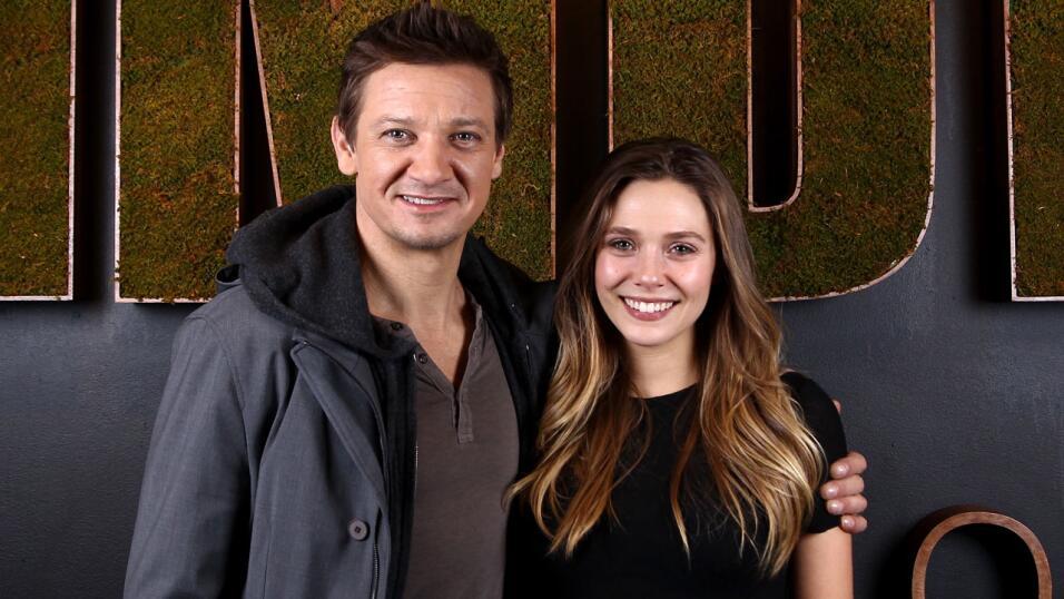 Jeremy Renner y Elizabeth Olsen fueron tan sólo dos de los grandes famos...