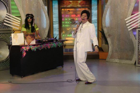 Raúl se lució dando vida al exitoso cantante y compositor.