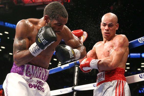 Lamont retuvo el cinturón, pero si quiere estar en mejores peleas tiene...