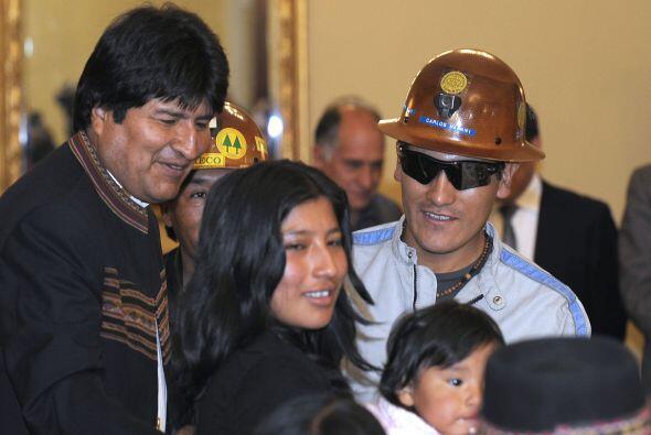 """""""Voy a regresar a Bolivia"""", ratificó y afirmó que """"he nacido en Chile"""",..."""