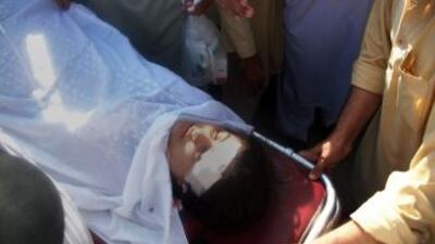 Yusufzai fue atendida de heridas en el cuello y la cabeza.