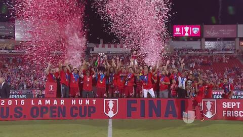 FC Dallas se corona campeón de la US Open Cup venciendo 4-2 a New Englan...