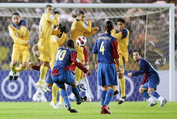 El partido terminó 4-0 a favor del cuadro blaugrana con goles de Gudjohn...