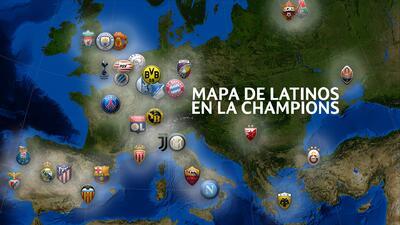 ¡A la conquista de Europa! Mapa de los latinoamericanos en la UEFA Champions League