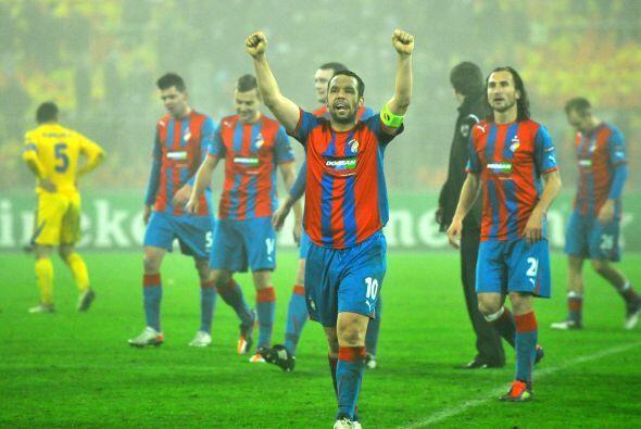 De cualquier modo, el Viktoria celebró la victoria por 1-0, pues desea j...