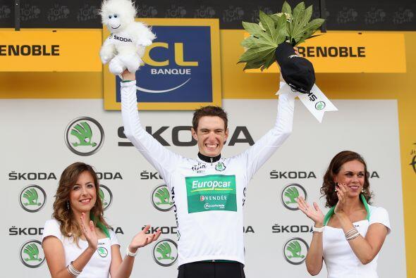 Al igual que el francés Pierre Roland, quien se llevó el premio al mejor...