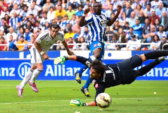 Cayó el tercero en una palomita de Gareth Bale que no pudo contener Lux.