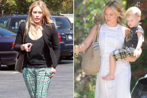Hilary Duff, es una experta en vestir con elegancia sin agregarle a&ntil...