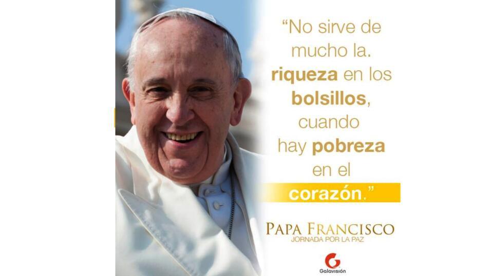 Papa Francisco,  Jornada por la Paz