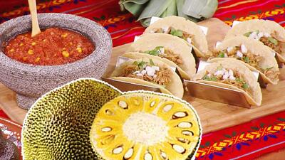 Con sabor a carne pero sin carne: receta de tacos vegetarianos de yaca