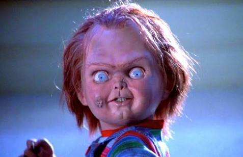 Chucky, el muñeco diabólico, salió de la pel&iacute...