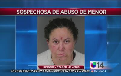 """Mujer acusada de golpear brutalmente a su hija afirma que lo hizo para """"..."""