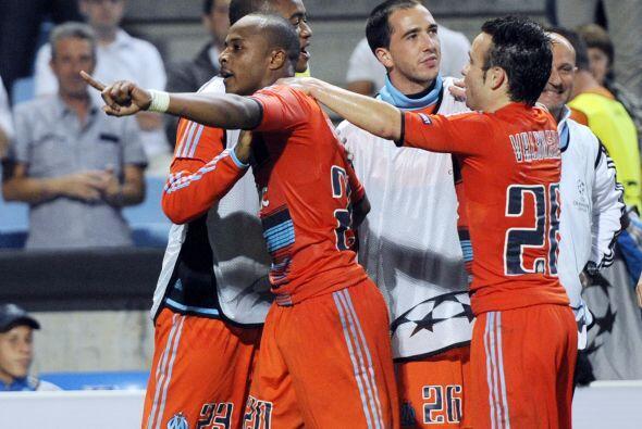 El Marsella no tuvo problemas para ganar por 3-0.