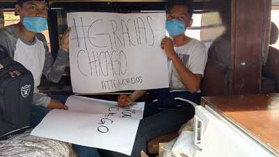 Joven de Chicago crea campaña para ayudar a damnificados del terremoto en Morelos