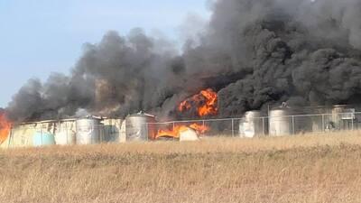 EN FOTOS: Explosión en una planta de químicos en Texas