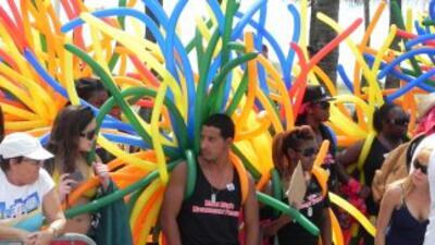Varios grupos activistas de jóvenes e hispanos estuvieron presente.