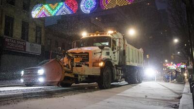 Autoridades de Nueva York se preparan para enfrentar los estragos del ciclo invernal en la ciudad