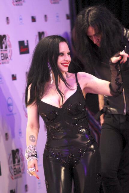 Alaska, la vocalista de Alaska y Dinarama, tiene un estilo gótico que la...