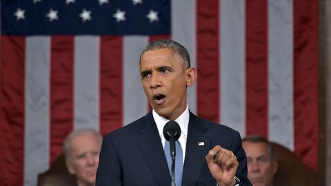 Obama en el discurso del Estado de la Unión de 2015
