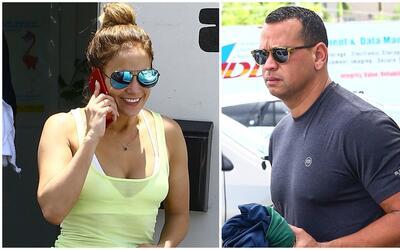 Jennifer López no faltó al gimnasio el día de su cu...