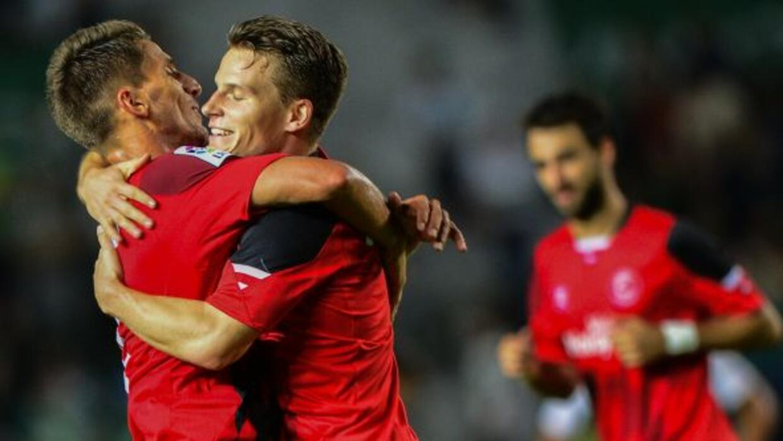 El club andalúz aplastó al Granada en la Copa del Rey