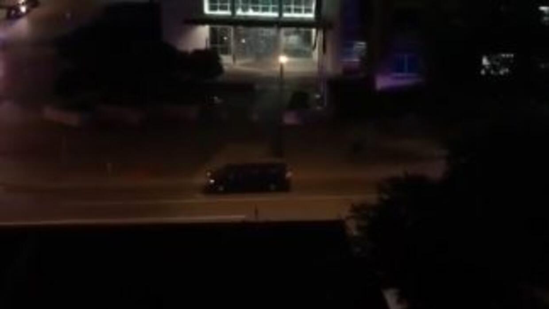 Imagen tomada de uno de los videos subidos a Youtube.