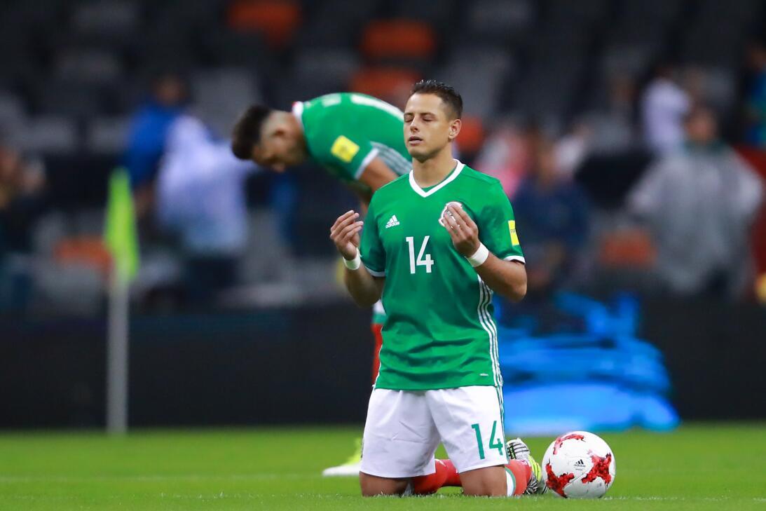 Javier 'Chicharito' Hernández (México) - el delantero tapatío es...