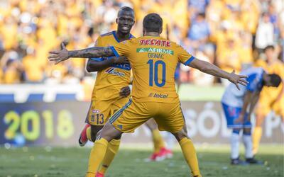 Puebla fue derrotado por Pumas Naucalpan en duelo amistoso Enner Valenci...