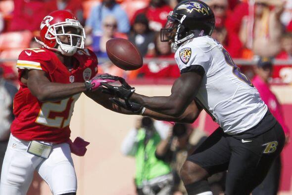 Sin anotaciones el duelo Ravens vs. Chiefs se lo llevó Baltimore...