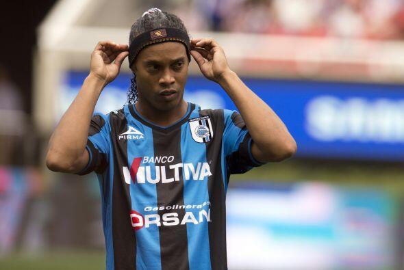 Veremos si Ronaldinho se suma a una larga lista de jugadores que intenta...