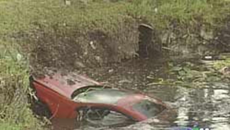 Peritos sacan del agua el auto en el que murieron tres estudiantes de Co...