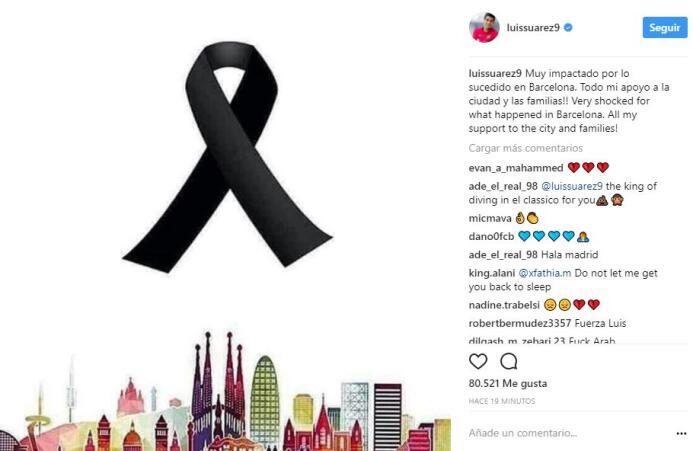 El mundo del deporte se solidariza con las víctimas de Barcelona BCN36.JPG
