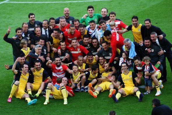 Atletico de MAdrid ganó su décima Liga de España garcais a un empate a u...