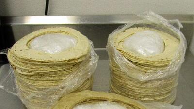 Encuentran metanfetamina escondida en tortillas en la frontera de Arizona