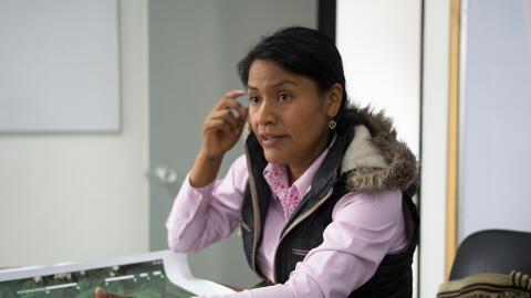 Nidia Becerra ha dedicado buena parte de sus 29 años al activismo...