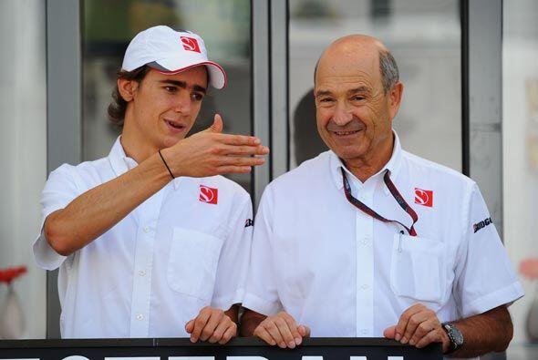 El piloto mexicano podría llegar a la Fórmula 1 tan pronto como la próxi...