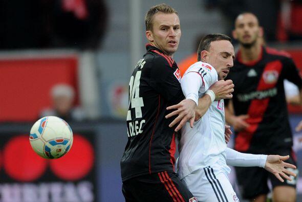El buen resultado que el Leverkusen arrancó el fin de semana cont...