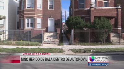 Niño baleado en un auto en el vecindario de Austin