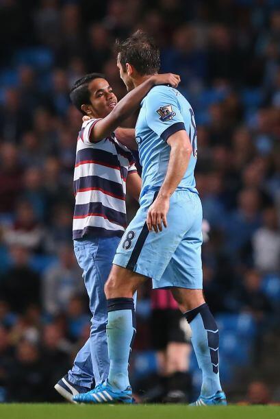 En el juego en el que el Manchester City derrotó 7-0 al débil Sheffield,...