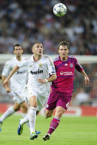 Karim Benzema compartió la dupla de ataque con Cristiano Ronaldo y no de...
