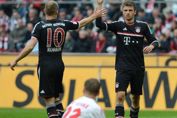 Müller ha tenido una baja de juego, pero parece retomar la forma física...