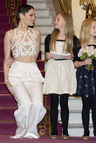 Aunque lució muy bien, tenemos que reconocer que ese vestido no e...