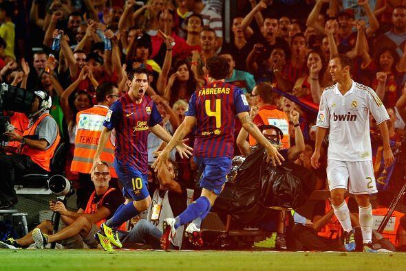 Messi cerró una jugada colectiva al más puro estilo de los...