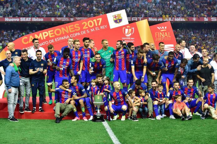 Barcelona se coronó campeón de la Copa del Rey en el cierre de su tempor...