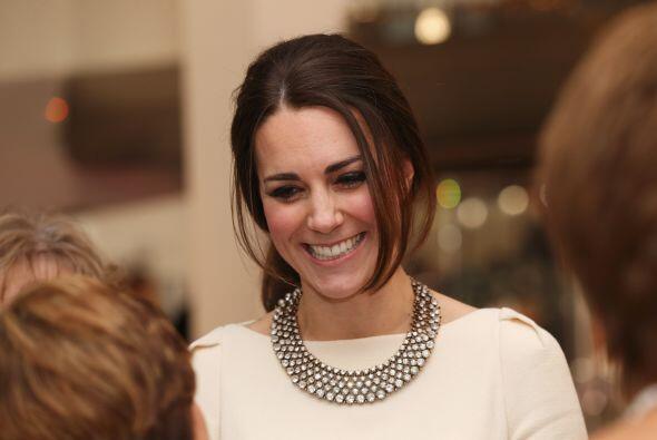 Kate Middleton se robó los reflectores.