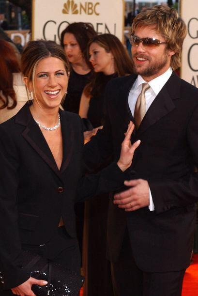 ¿Jennifer Aniston y Brad Pitt? Sí, así lucieron hac...