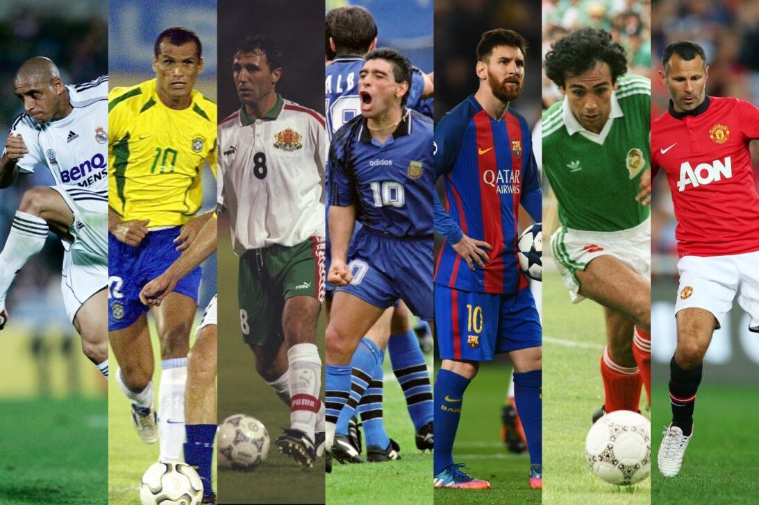 ¡Izquierdas de oro! Los mejores futbolistas zurdos de la historia zurdos...
