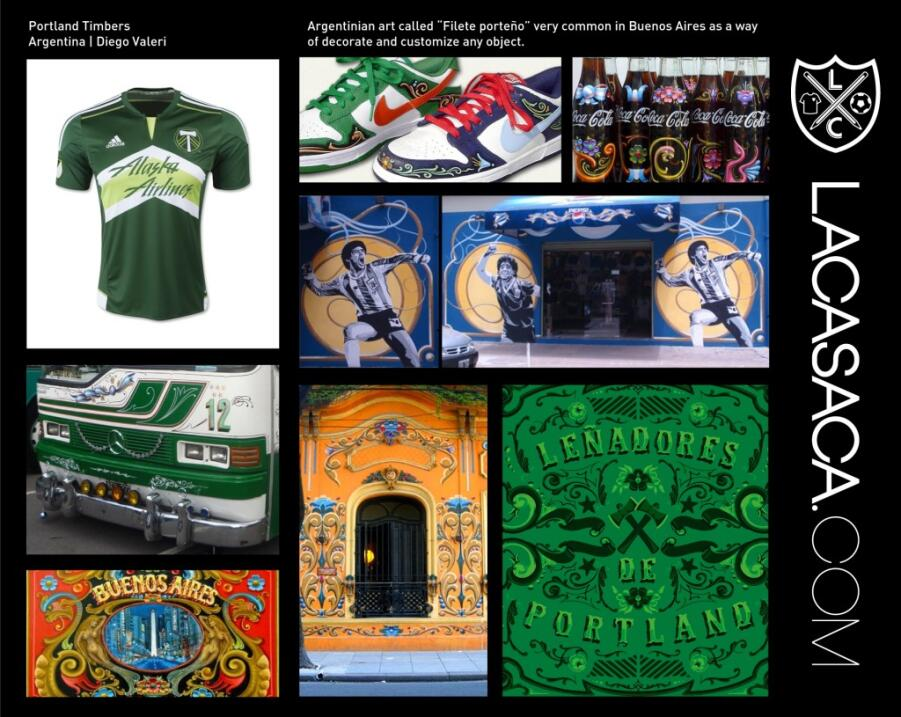 Camisetas de la MLS - Herencia Hispana