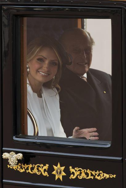 Angélica Rivera acompañó a su esposo, el presidente de México, Enrique P...
