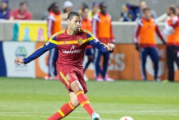 ÁLVARO SABORÍO (CRC)   El delantero de Real Salt Lake jugó la Copa Oro 2...
